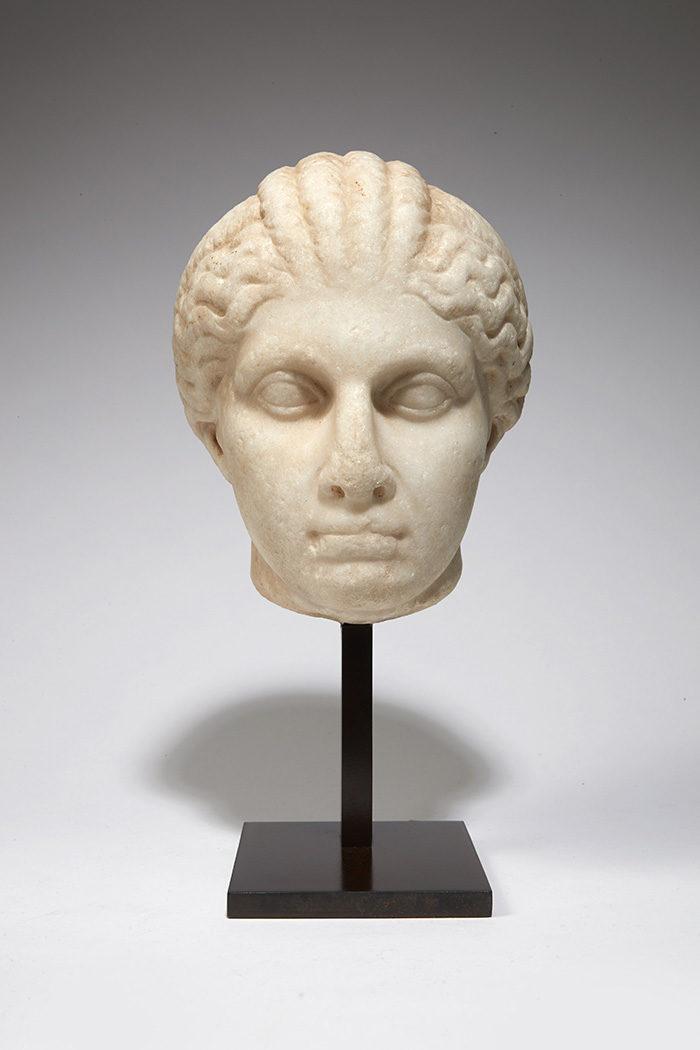 <h2>Portrait attribué à Cléopatre Séléne II</h2>